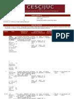 Planeacion de Derecho Procesal Penal
