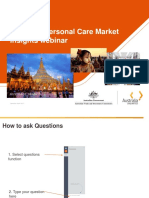 2017 Webinar Myanmar Personal Care Briefing