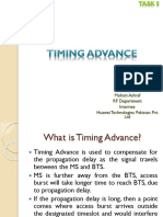 Timing Advance
