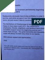 Five Closed PDF