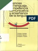Ciencias del lenguaje, competencia comunicativa y enseñanza de la lengua- Carlos Lomas.pdf