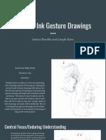 pen   ink gesture drawings