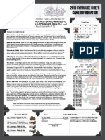 Chiefs Game Notes 4-10-18