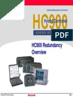 Hc900 Redundancy