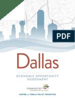 Dallas Economic Opportunity Assessment 2018
