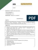 Plano de Aula_dir Previdenciário_andré Silva Barroso