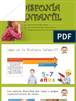 Disfonía Infantil