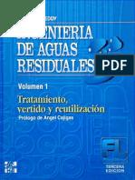 Ingeniería de aguas residuales, Volumen 1, 3ra Edición - METCALF & EDDY