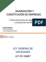 Sesion 2 Marco Normativo Ley de SOCIEDADES