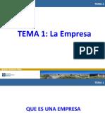 TEMA 1 La Empresa (Completo)