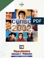 Censo 2002 Chile (Con Cuestionario)