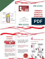 Primeros Auxilios y Manejo de Extintores