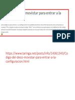 clave deco configuracion de movistar DTH HD BASICO.pptx