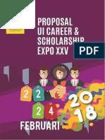 Proposal UI Career Expo XXV
