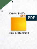 Höffe - Ethik_ Eine Einführung - C. H. Beck (2013)