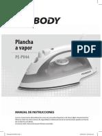 Plancha a Vaporpe Pv44 m