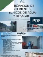 Elaboración de Expedientes Técnicos de Agua y Desague