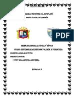 Neumonia Atipica y Tipica