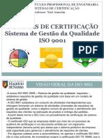 Slides Sistemas de Certifica o Iso 9001 Gest o Da Qualidade