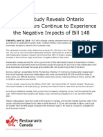 Apr 10%2c 2018_New Study Reveals Ontario Restaurateurs Continue to Experie...