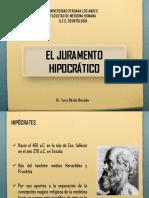 El Juramento Hipocratico