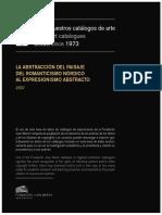 Abstracción Del Paisaje PDF