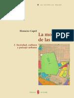 Horacio Capel - La morfología de las ciudades. I. Sociedad, cultura y paisaje urbano