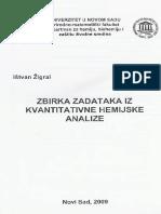 Zigrai - Zbirka Zadataka Iz Kvantitativne Hemijske Analize - SPARKS