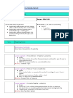 brain lesson  plan template