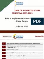 Plan Nacional de Infraestructura Educativa