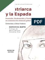 El Patriarca y La Espada. Gustavo Martin. 2018