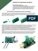 Manual de Utilização Modelo 1