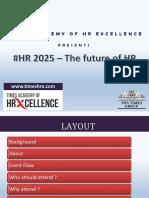 #HR2025 PPT Speakers