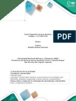 Guía de Actividades y Rúbrica Cualitativa de Evaluación - Fase 1. Diagnóstico Solidario