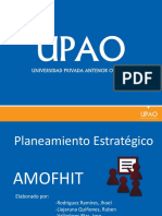 AMOFHIT - PLANEAMIETNO ESTRATEGICO