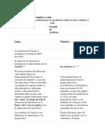 Gestión de Archivos Windows y Linux