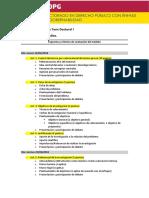 DDP - Taller de Tesis Doctoral I - Esquema y Criterios de Evaluación Del Módulo