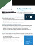 Poweredge r440 Spec Sheet Mx