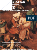 Jacques Attali - Noise_ The Political Economy of Music (Theory and  History of Literature) (1985).pdf