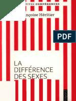 Françoise Héritier - La différence des sexes (2010, Bayard Jeunesse).epub