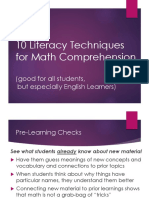 10 great ways to use literacy techniques