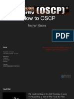 How to OSCP