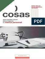 100 Cosas Que Puedes Hacer Para Mejorar Tu Marca Personal - Marc Reklau y Pilar Zaragoza de Pedro