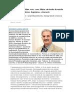 Eduardo Barros Millen conta como é feito o trabalho de revisão técnica de projetos estruturais