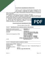 MSDS del Bisfenol A