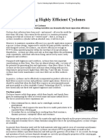 Tips for Selecting Highly Efficient Cyclones » Fluid Engineering Blog