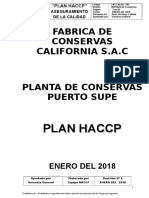 Atun - Plan Haccpp 2018
