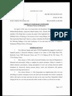 Kurt Pflieger -- Order of Temporary Suspension