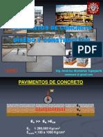 Pavimentos de Concreto Diseño y Construccion