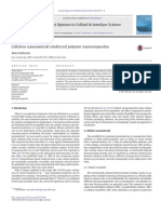 Cellulose Nanomaterial Reinforced Polymer Nanocomposites